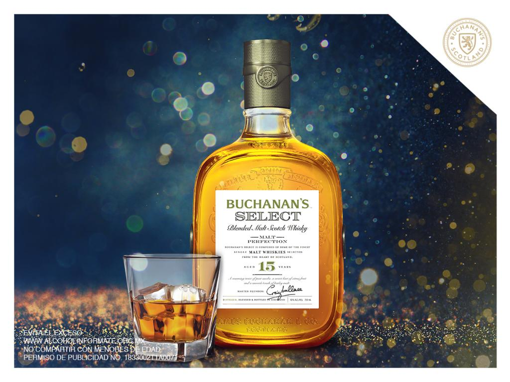 Branding para Buchanan's Select