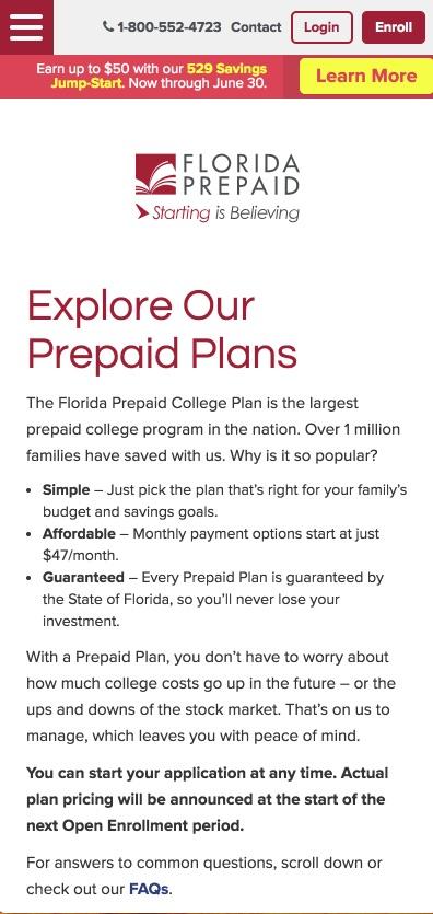 Florida Prepaid App