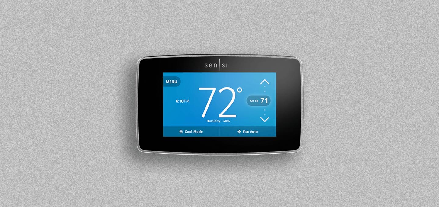 Sensi Touch Thermostat UI