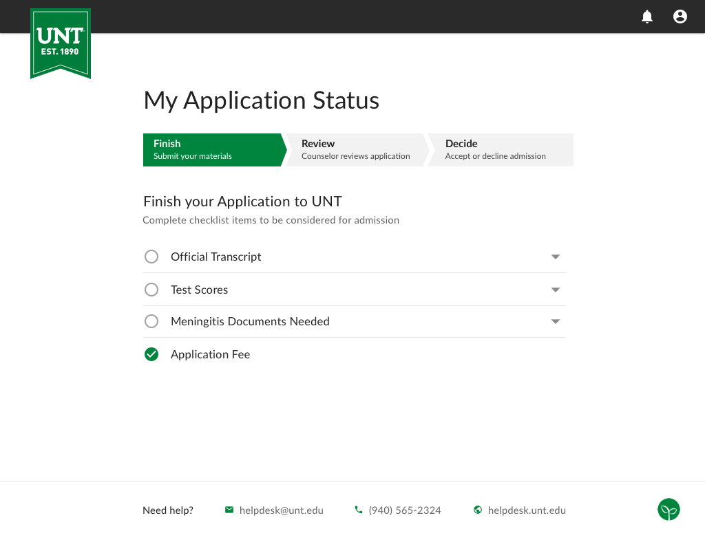 Student Onboarding Applications