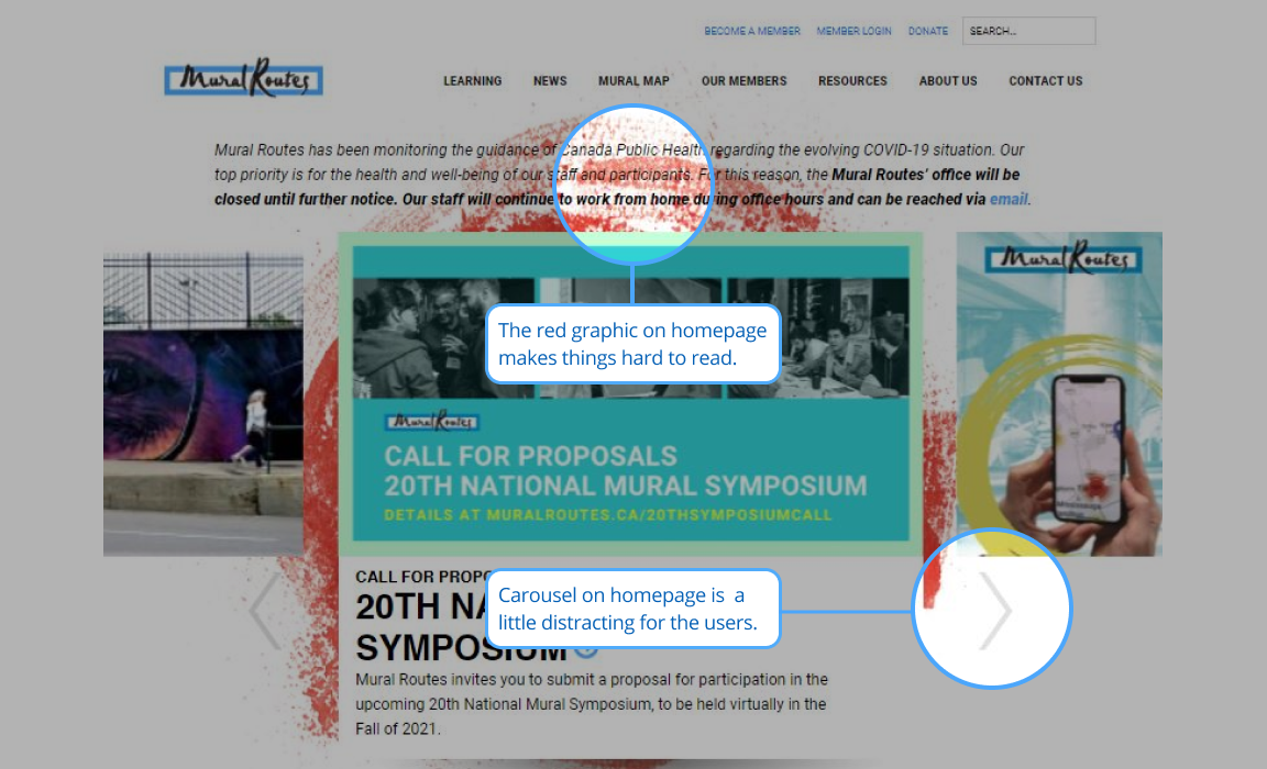 Mural Routes Homepage