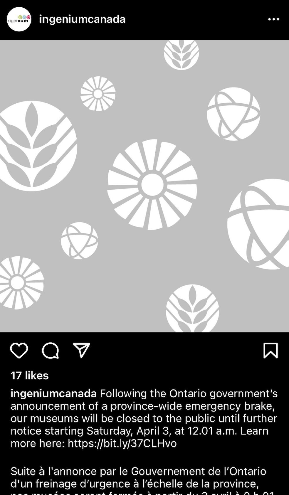 Recent Ingenium post to Instagram