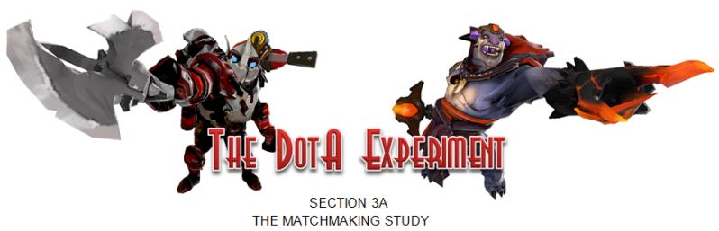 THE DOTA EXPERIMENT