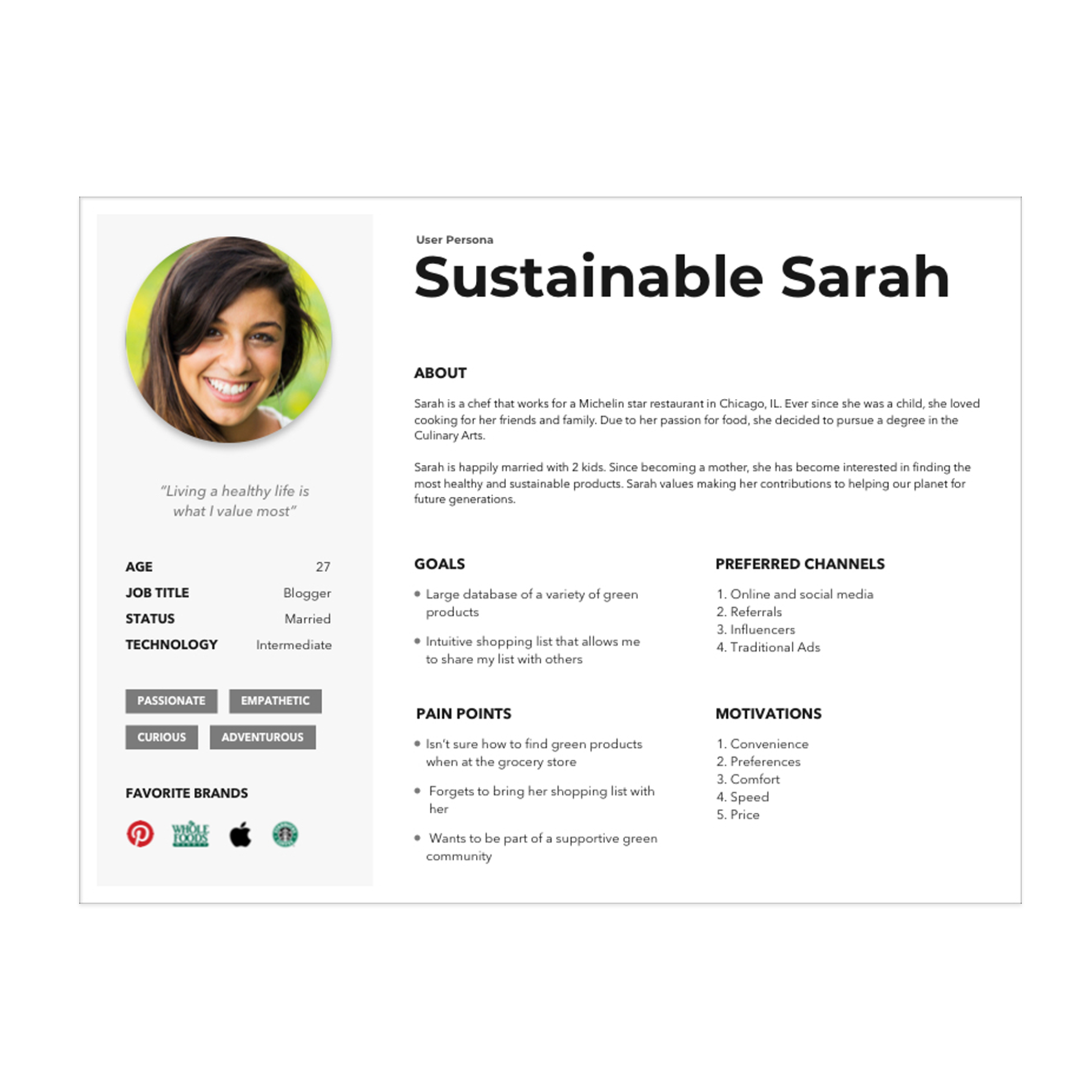 Making Sustainable Shopping Easy