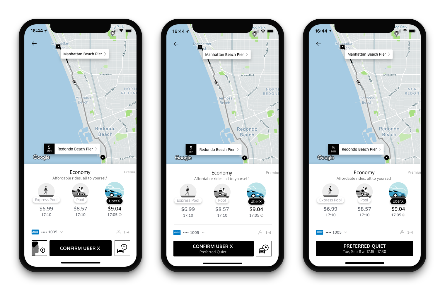 Add a Feature: Setting the conversation level with your Uber driver