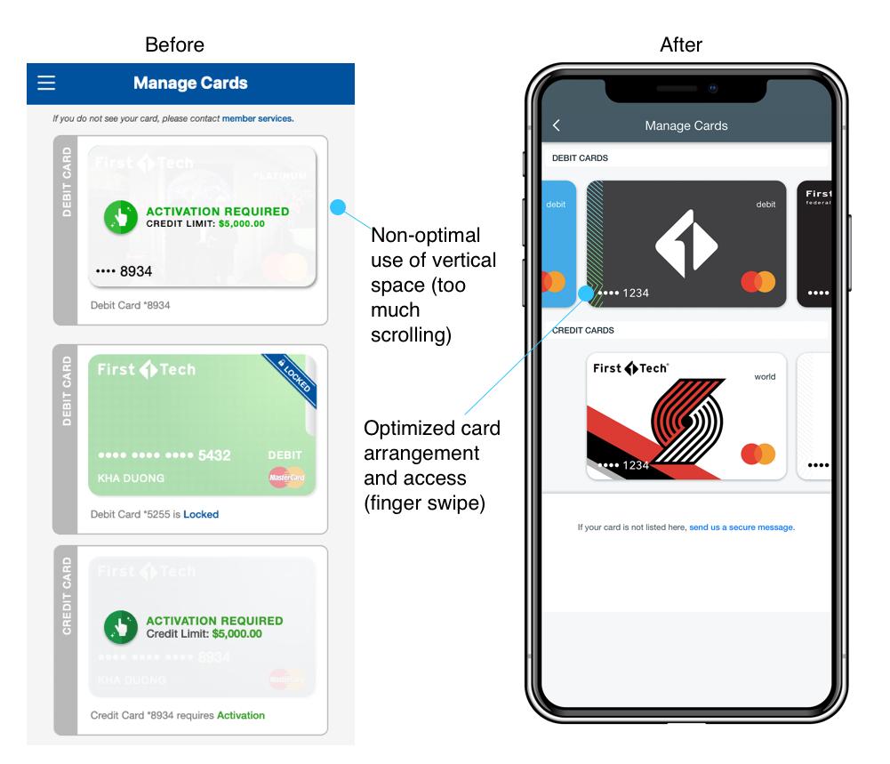 Mobile Card Management
