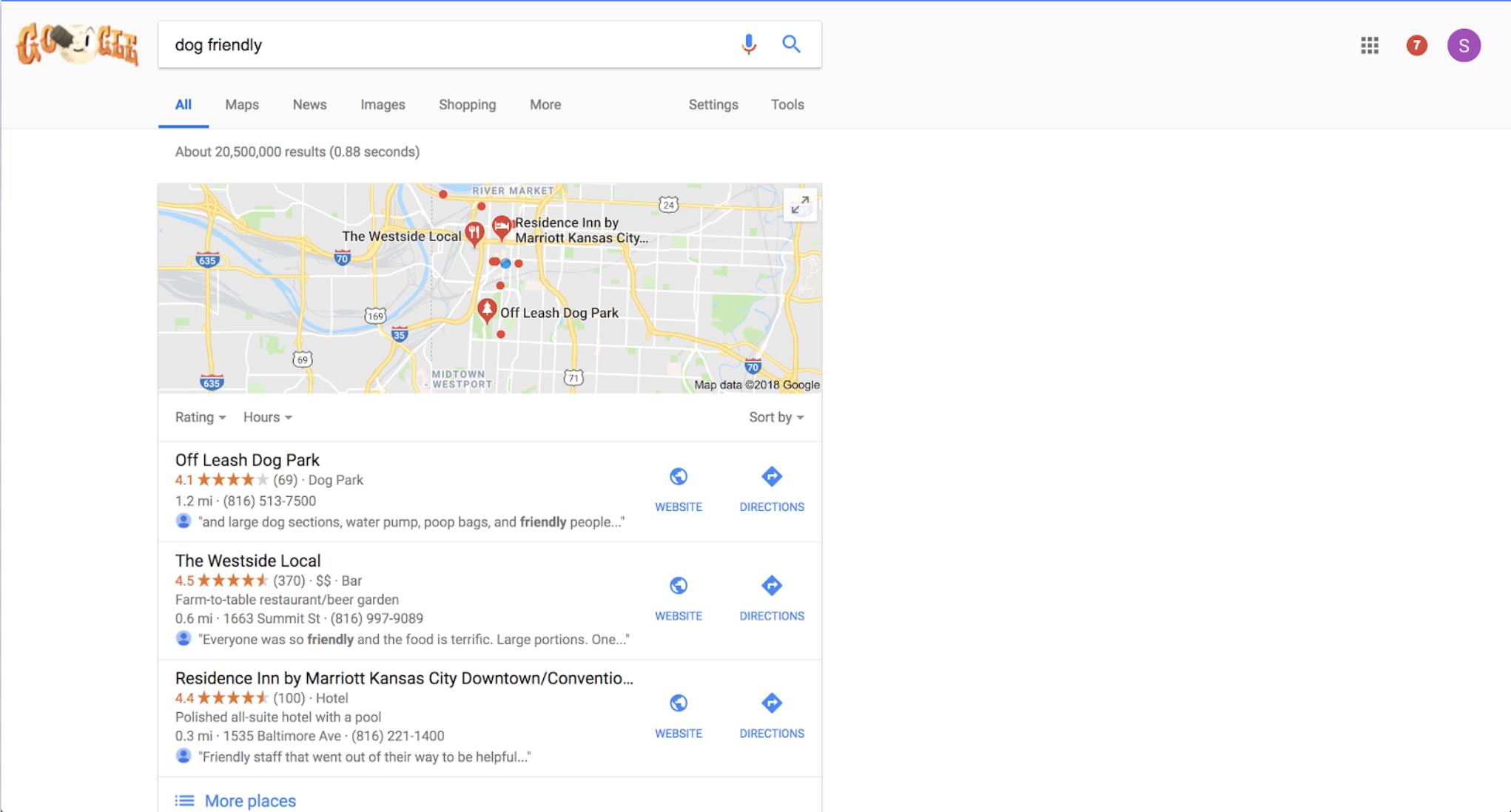 Google Desktop (Results)