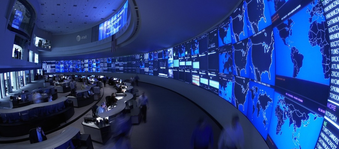 SA is used in Security Operations Centers like the one above