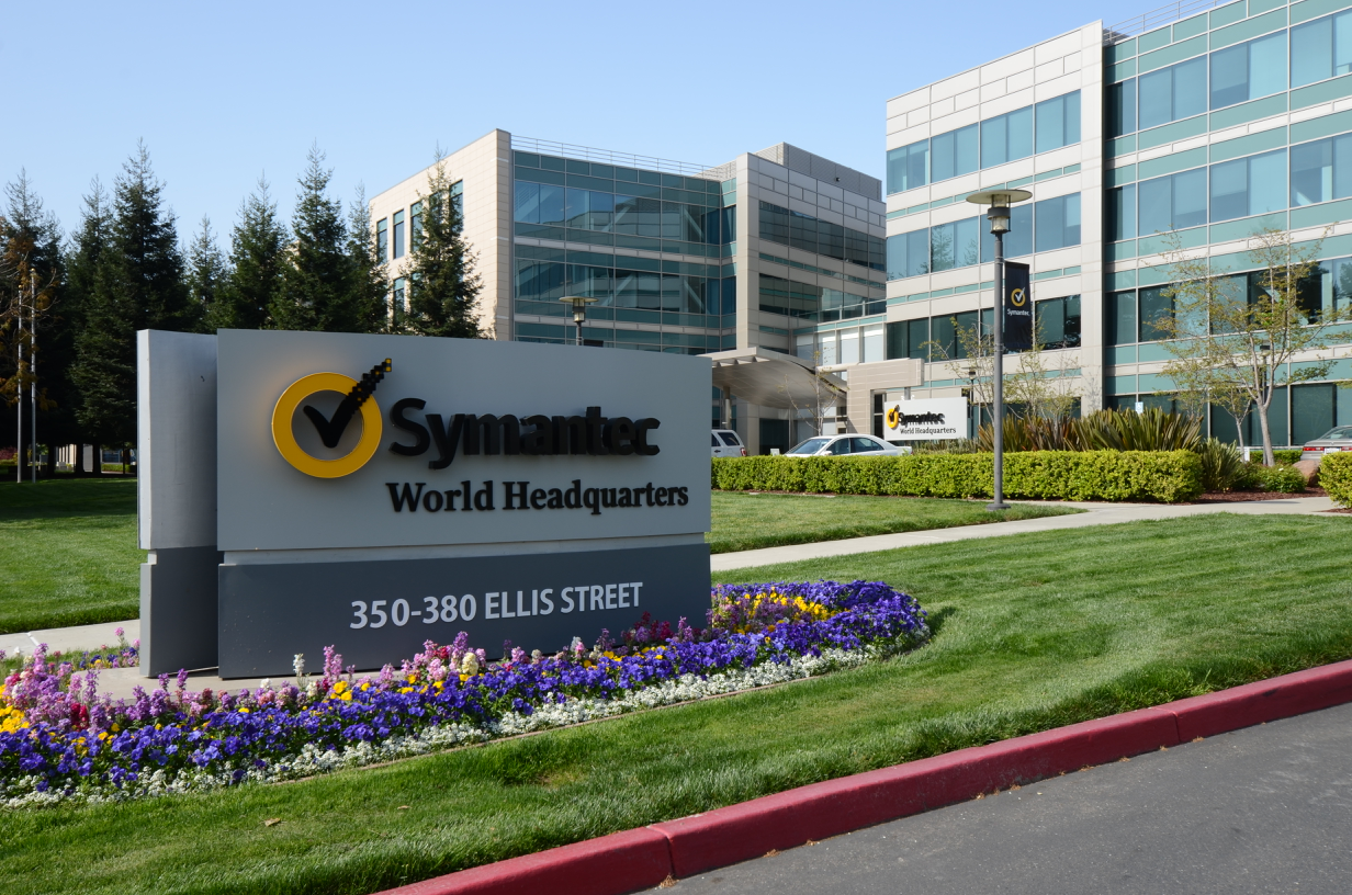 Symantec's Mountain View headquarters