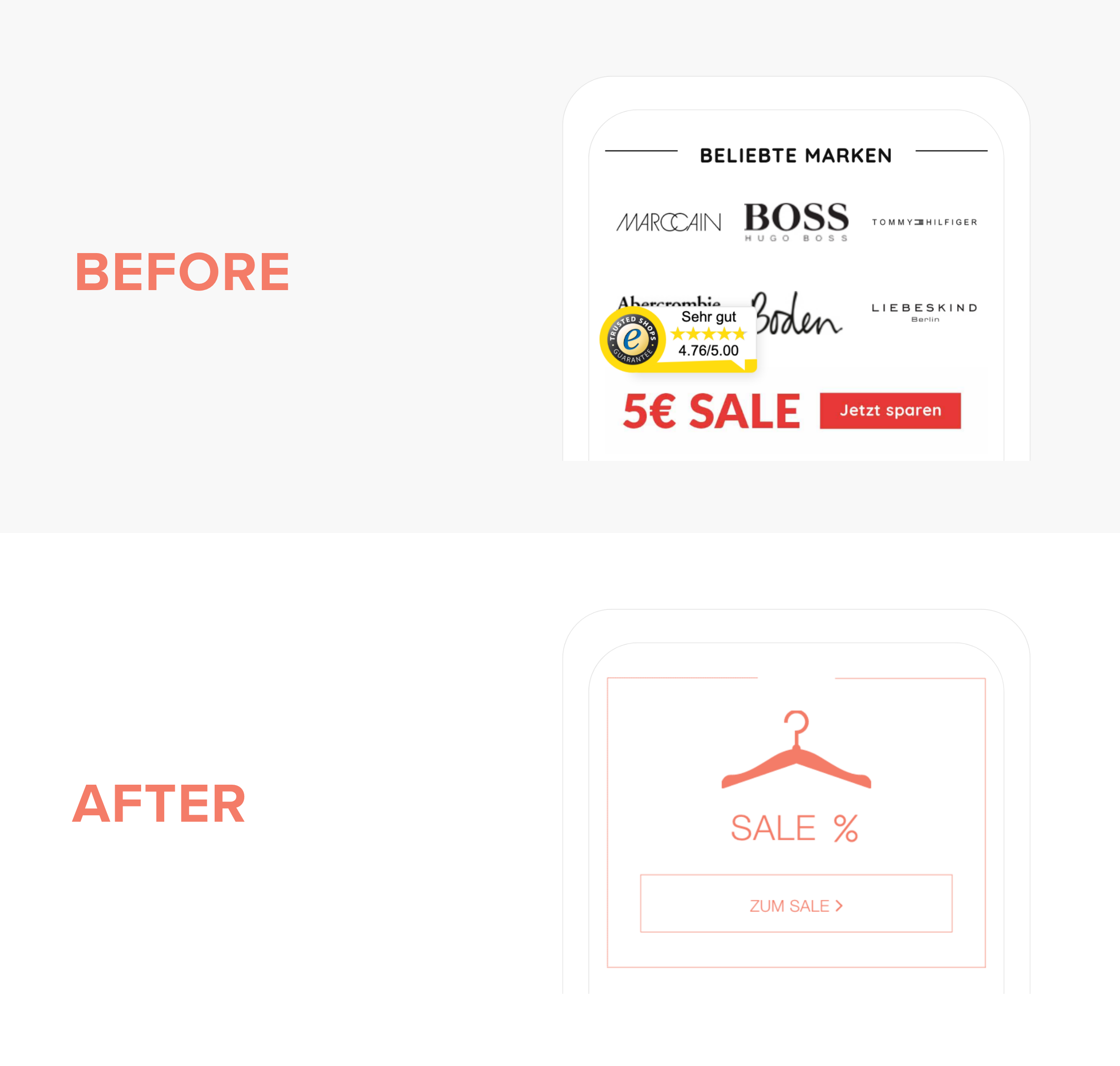 Design for eCommerce