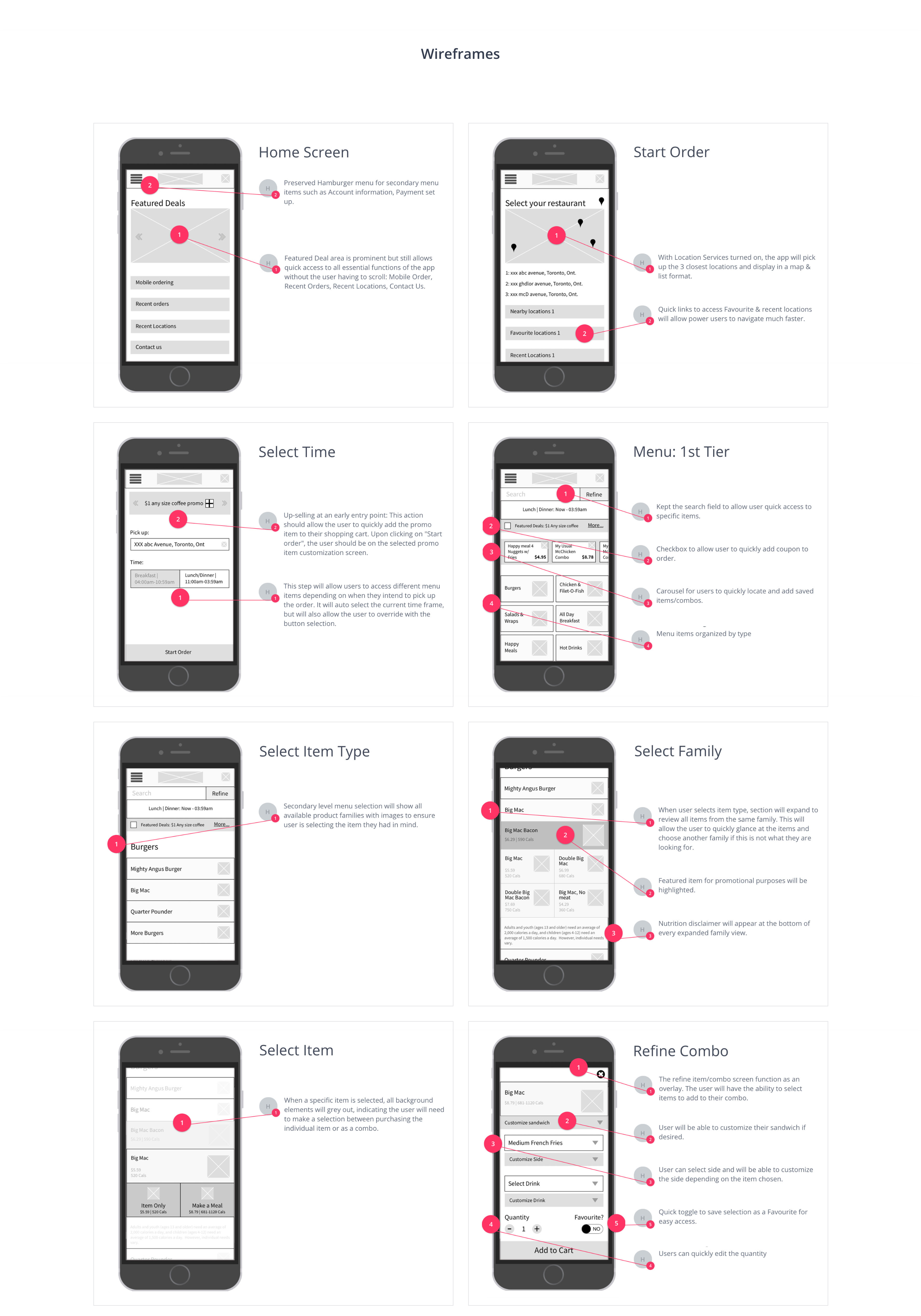 McDonald's App Redesign