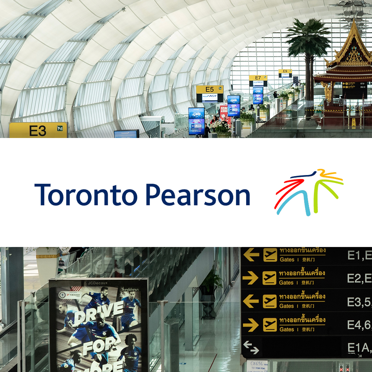 Toronto Pearson Airport Homepage Redesign