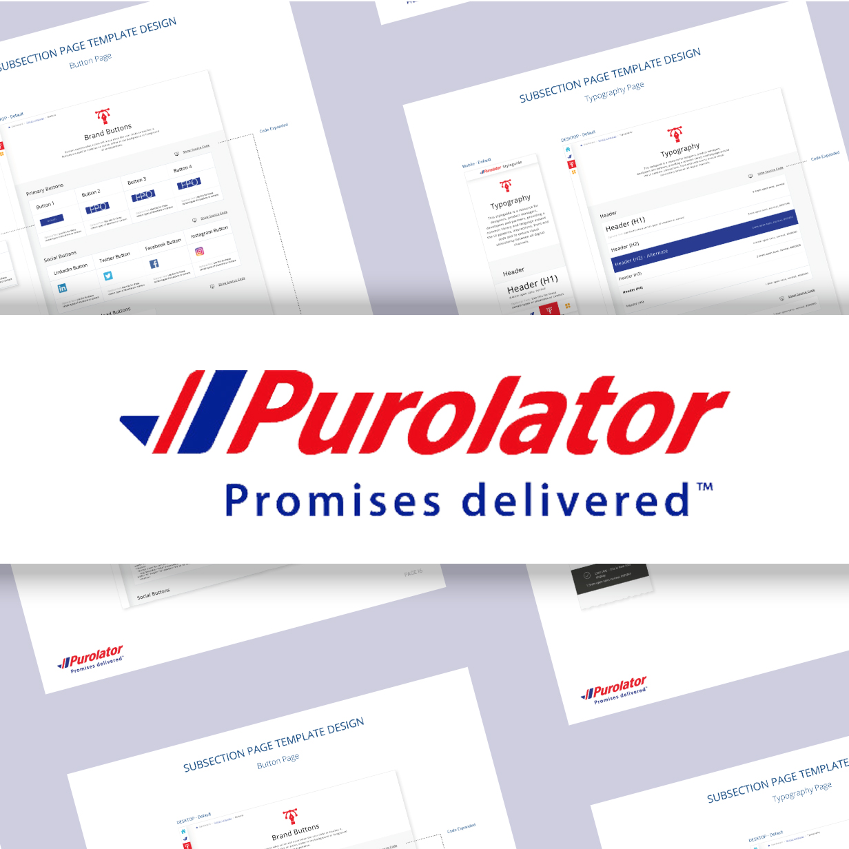 Purolator - Digital Style Guide