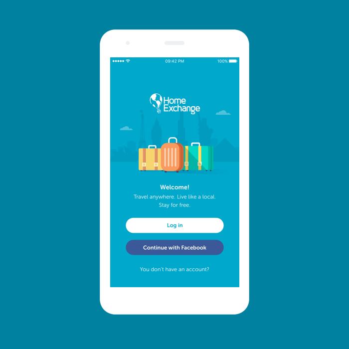 HomeExchange App