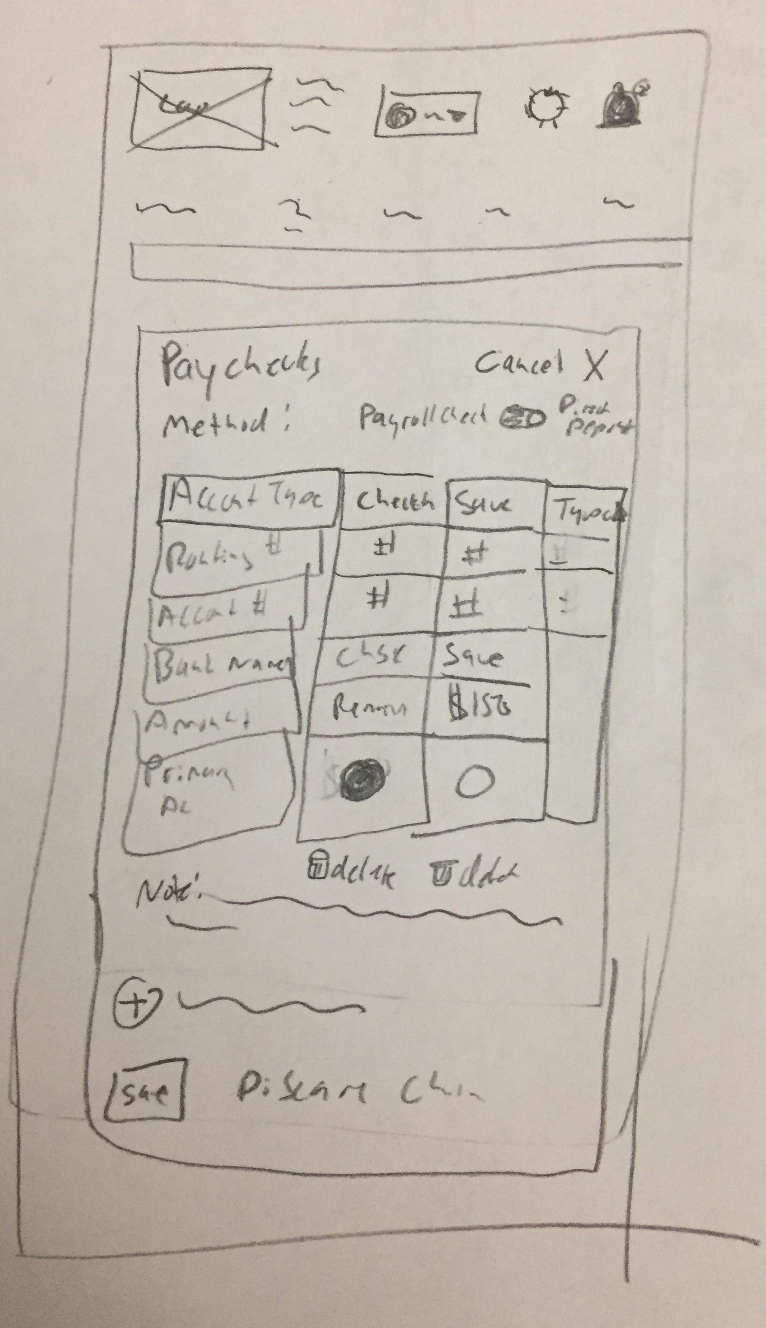 Internal Tool: Human Resources Mobile Web App