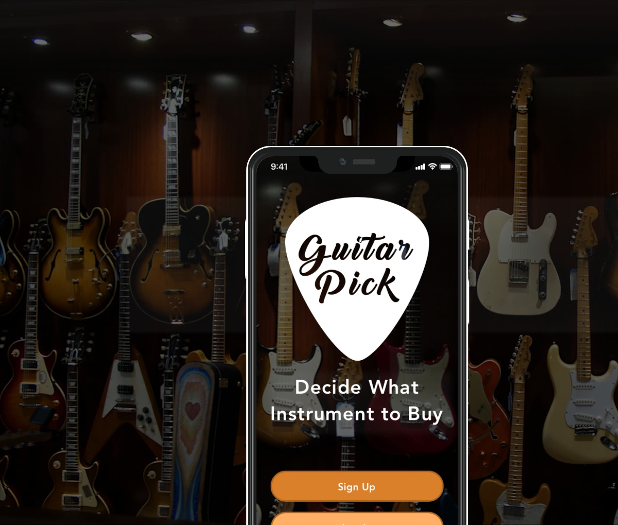 Guitar Pick App