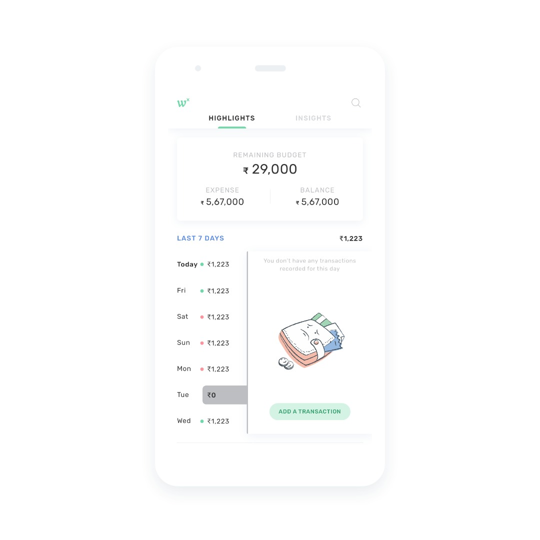 Personal Expenses Tracking App