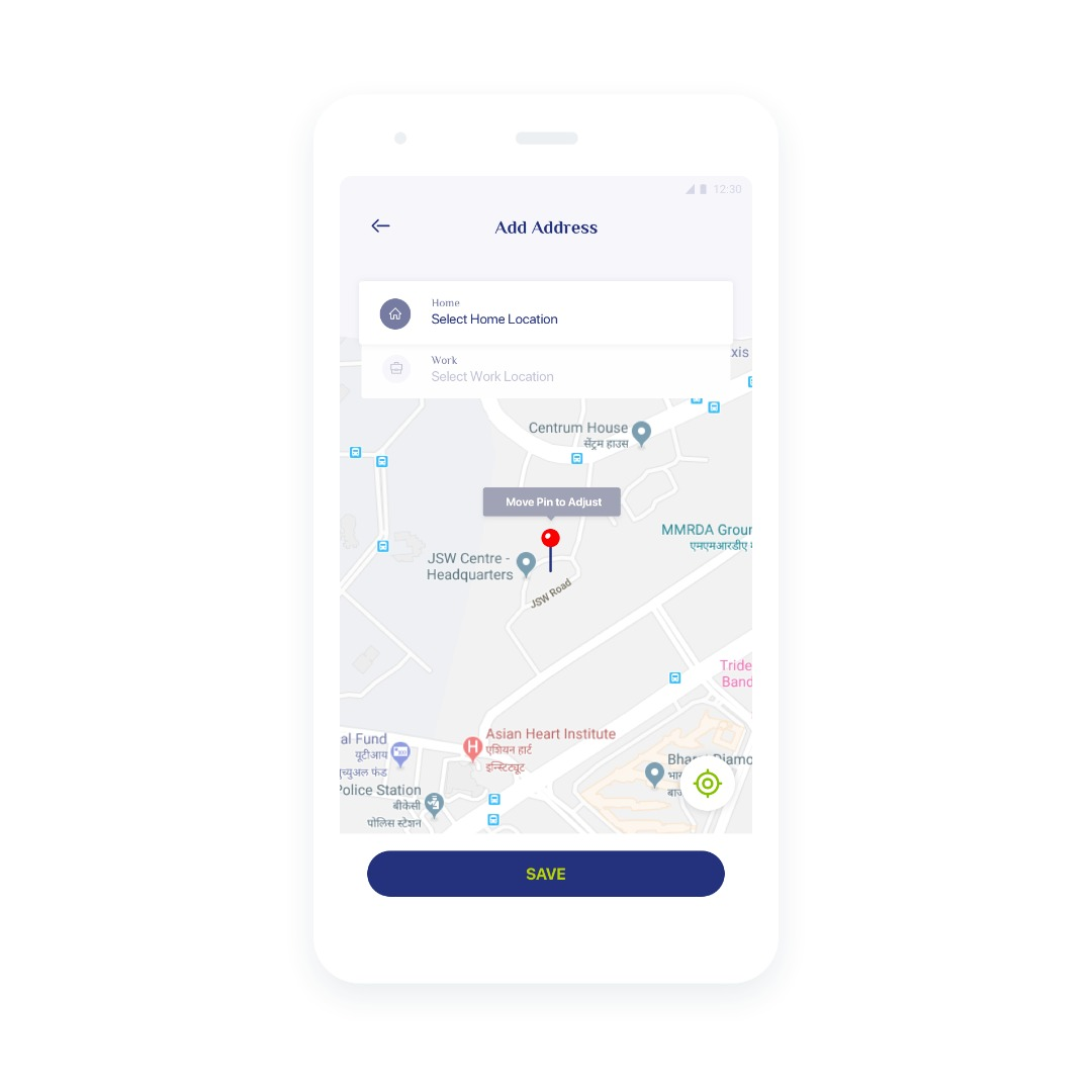 Point-to-Point Premium Shared Cab App