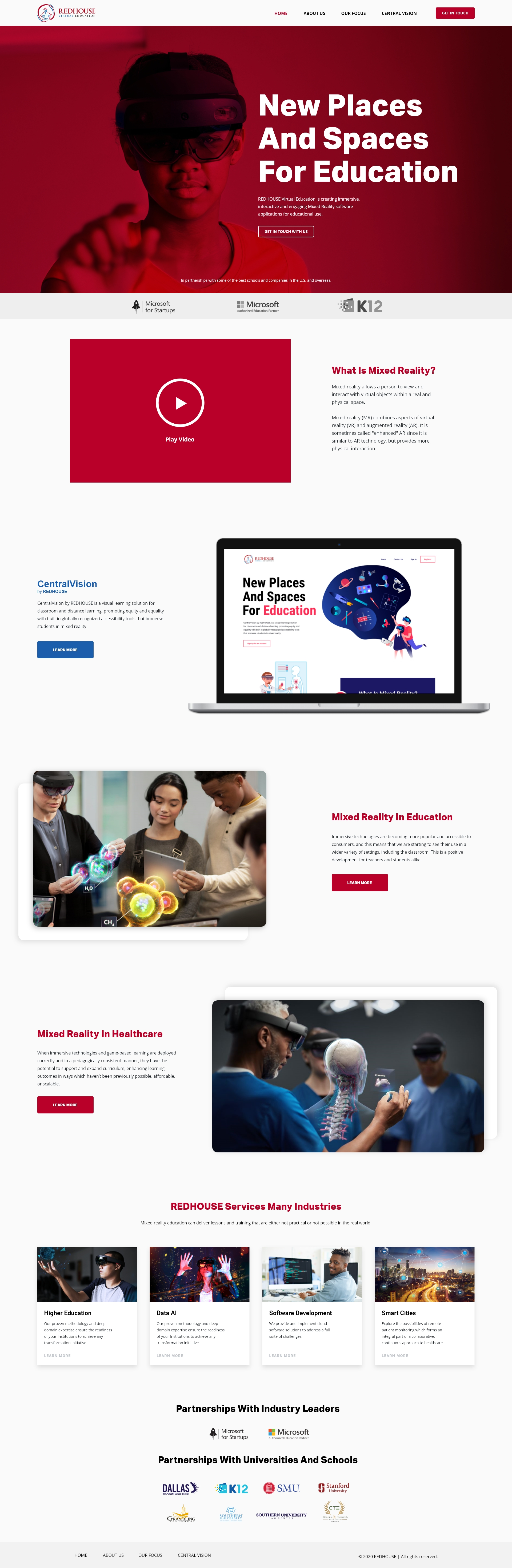 REDHOUSE Webpage Redesign