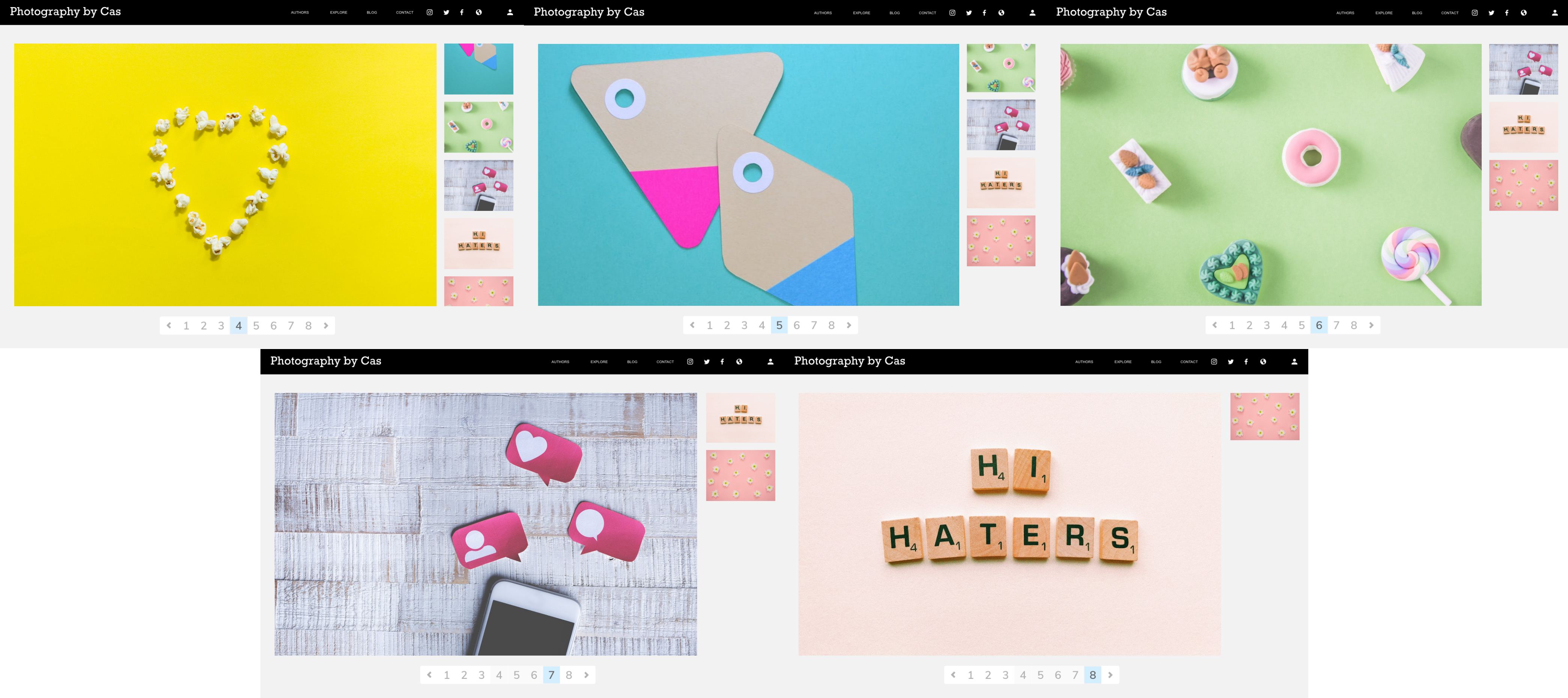 Adobe XD Design Challenge Projects