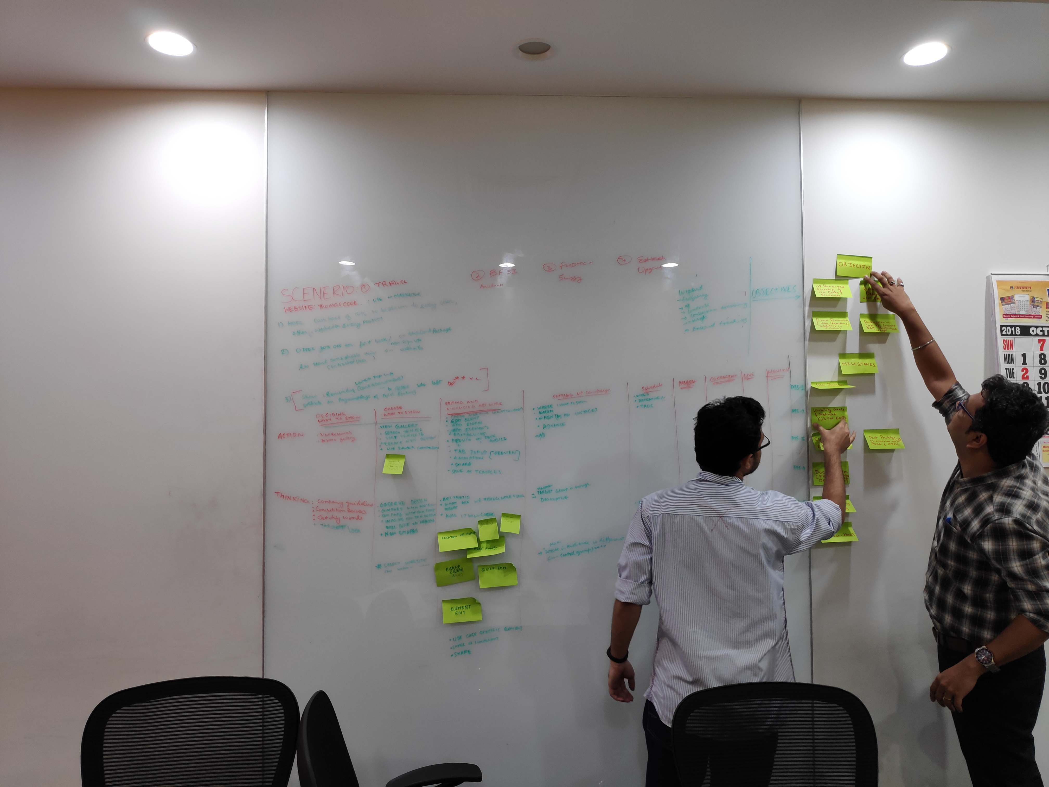 We created User Journey map along with PM and other stakeholder