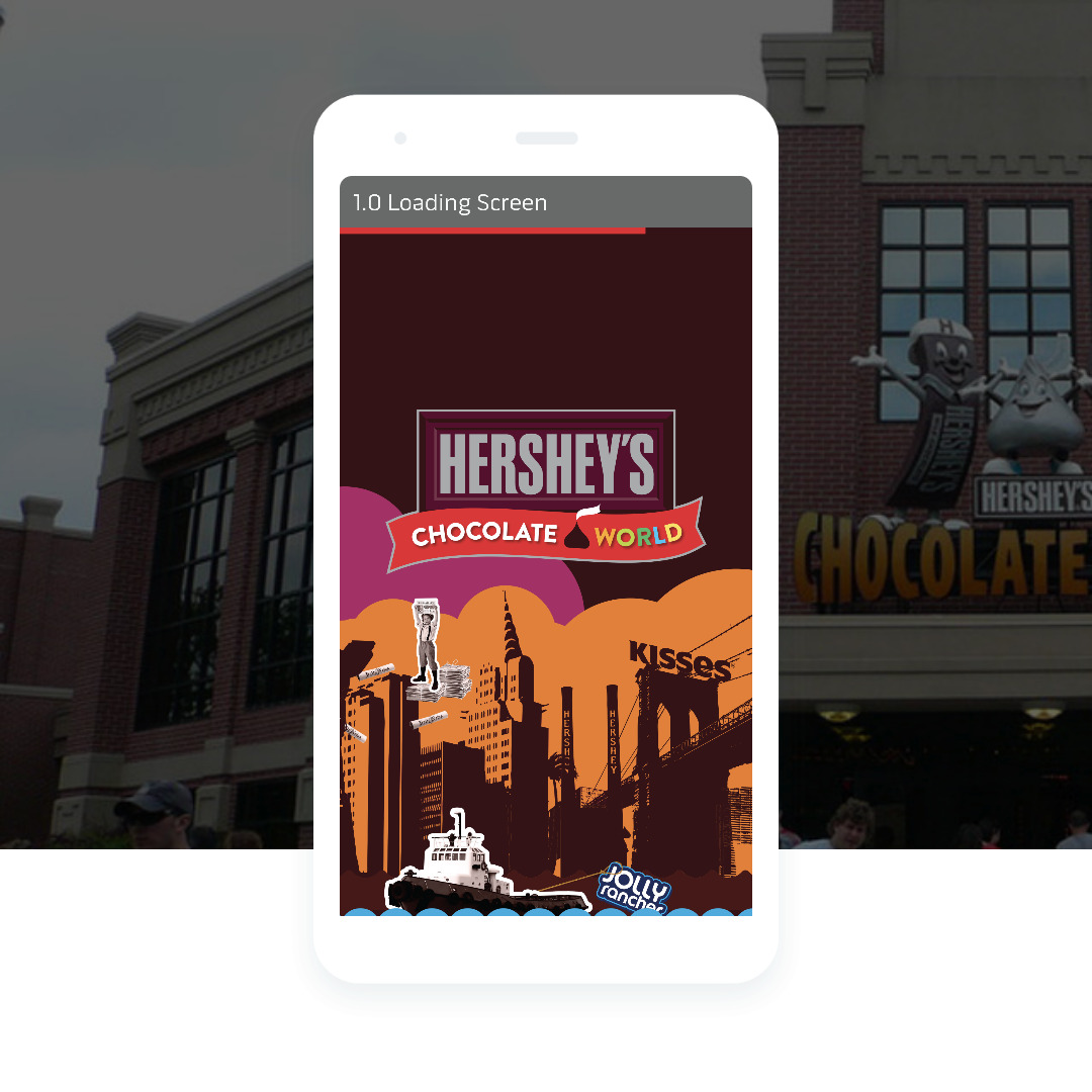 Hershey's Chocolate World Mobile App (ROUGH)