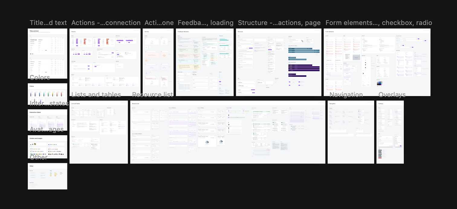 I also did some work on the Advise Design System