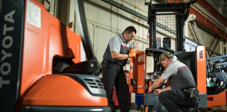 Toyota Industrial Forklift Sales