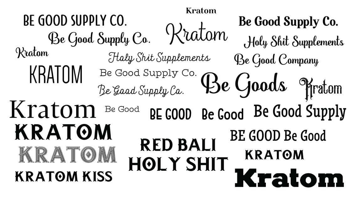 After I find lots of fonts, I compare them against each other.