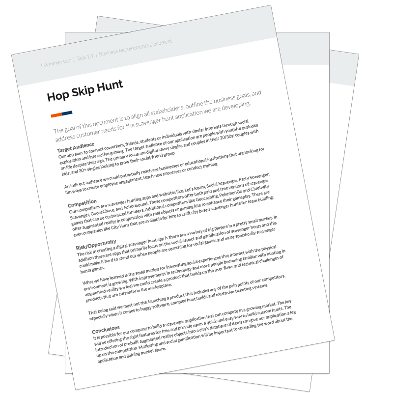 Hop Skip Hunt App