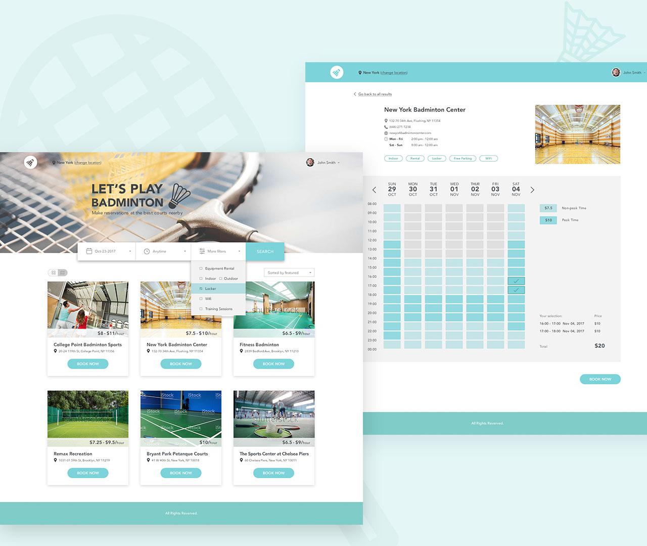 Badminton Court Online Booking