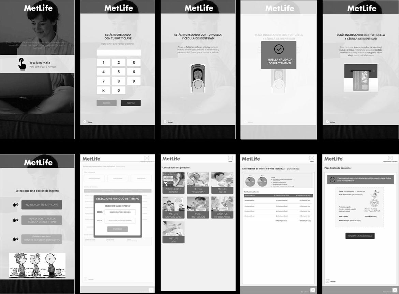 Self-serving e-kiosk design