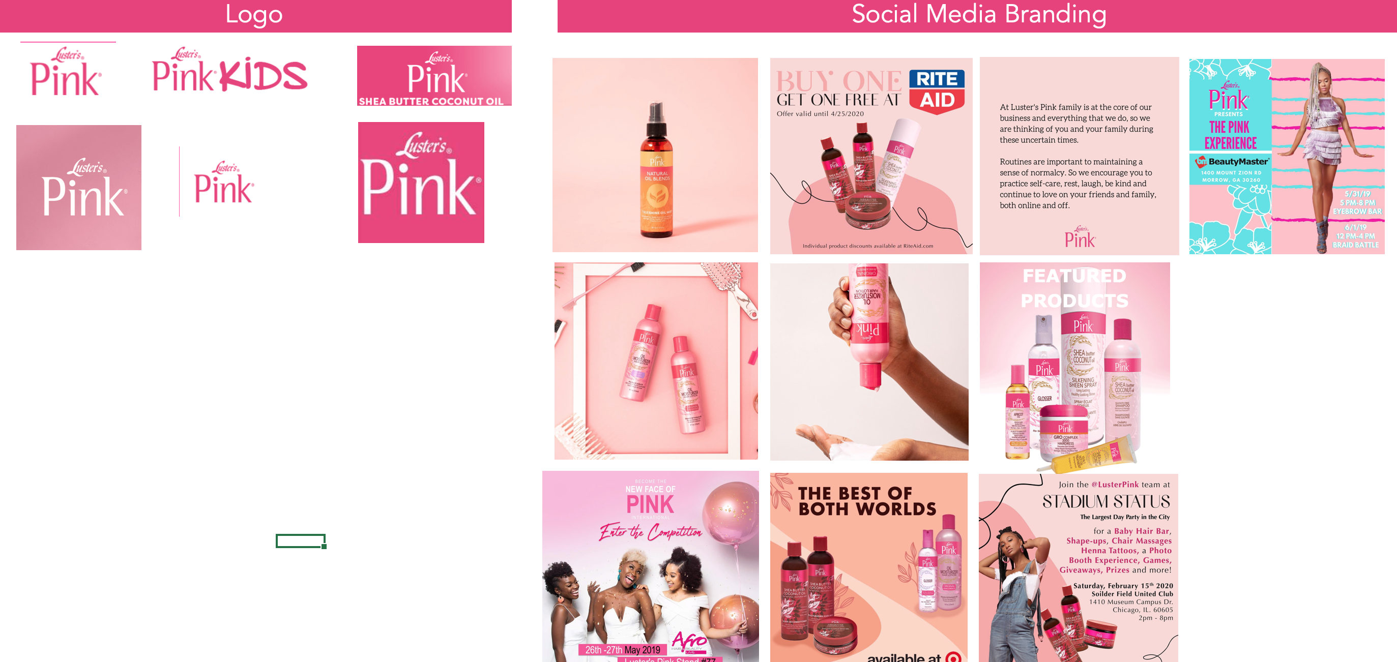 Luster's Pink - UI