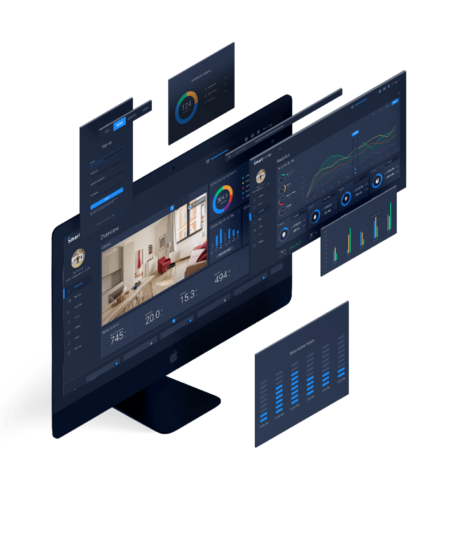 Smart Home Medication Adherence System (Coding Project)