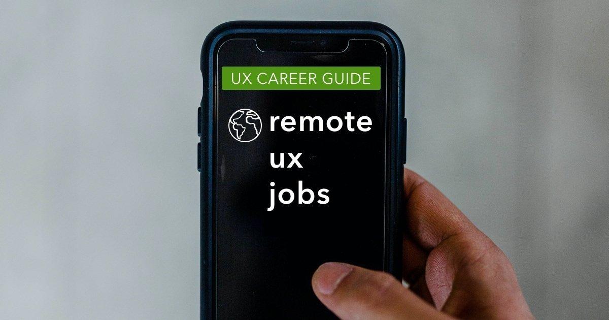 Guide to Remote UX Design Jobs