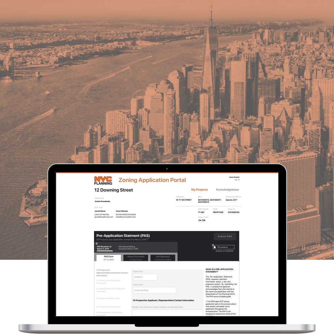 Zoning Application Portal Pt 2, Applications