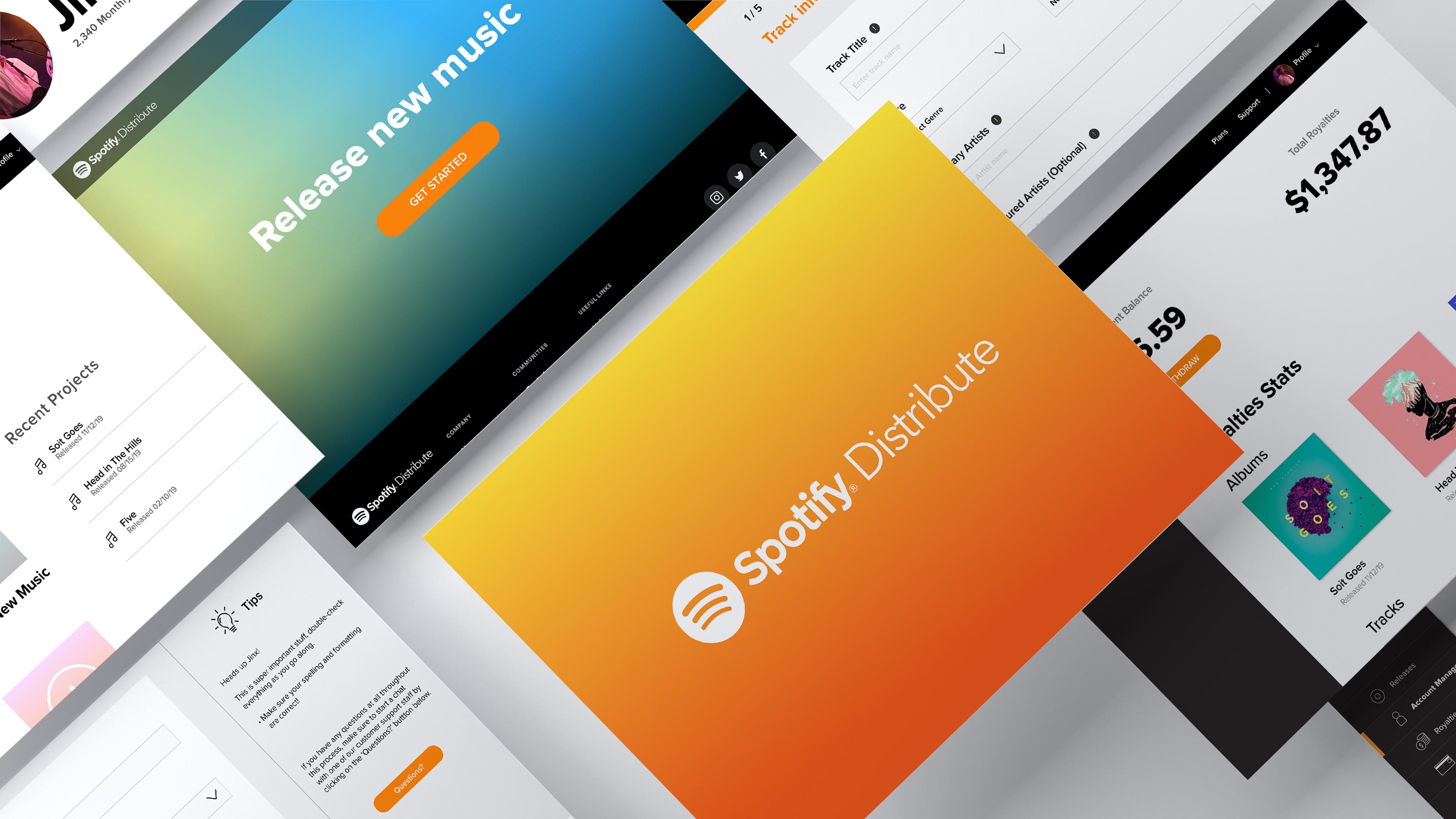 Spotify Distribute