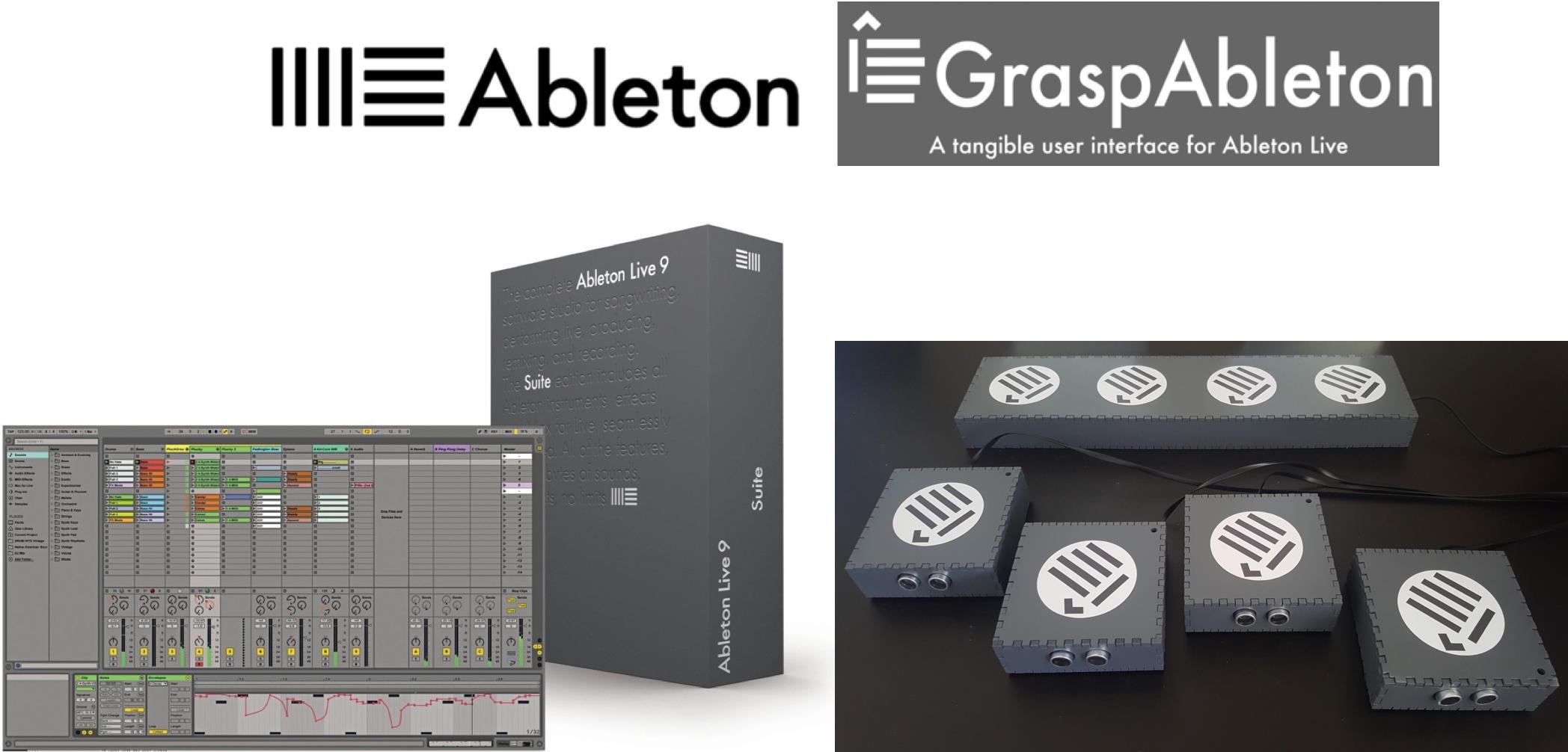 GraspAbleton's visual design matches that of Ableton