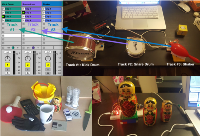 Prototyping explored usable objects and forming merging past prototypes into a system