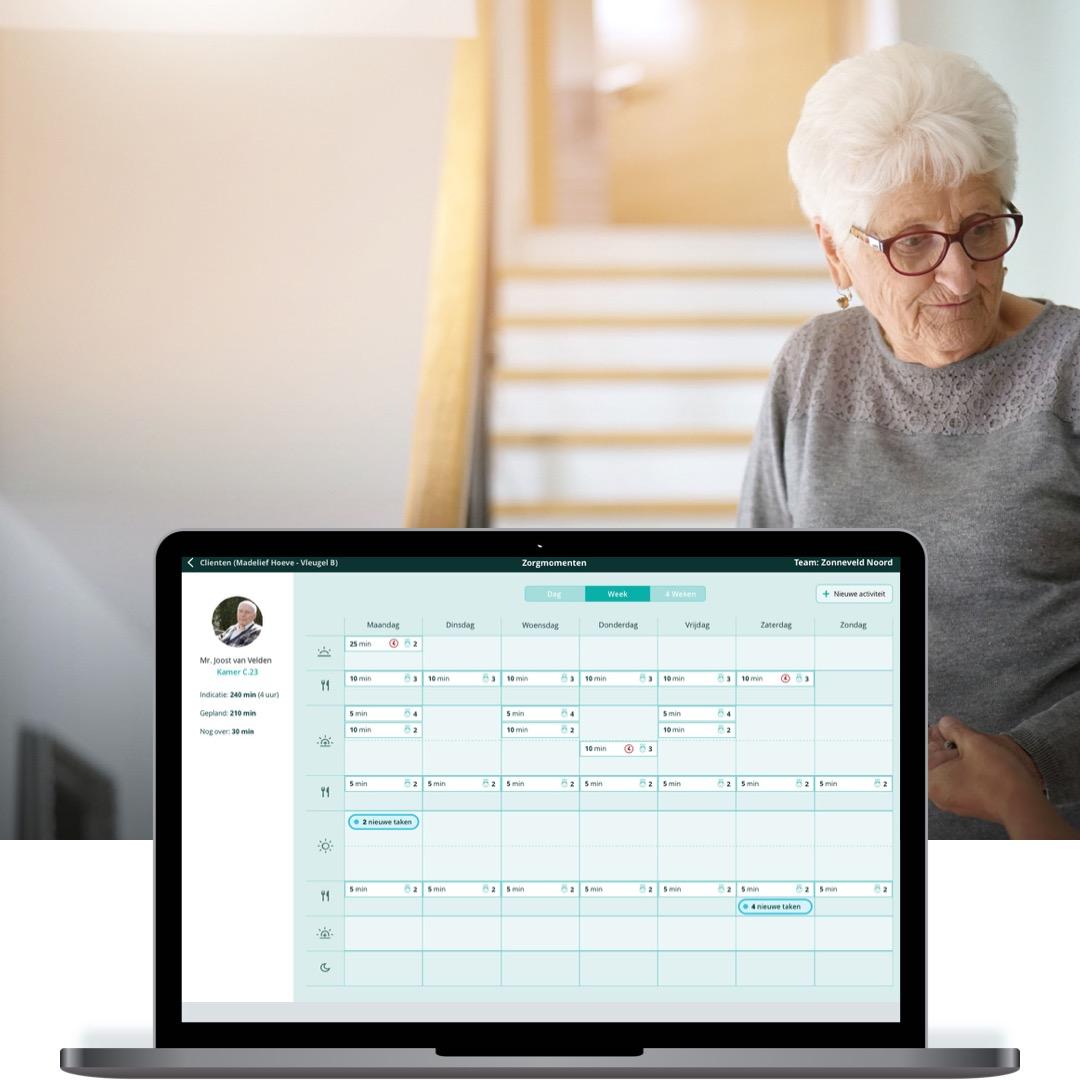 Zelf-planning tool voor thuiszorg teams
