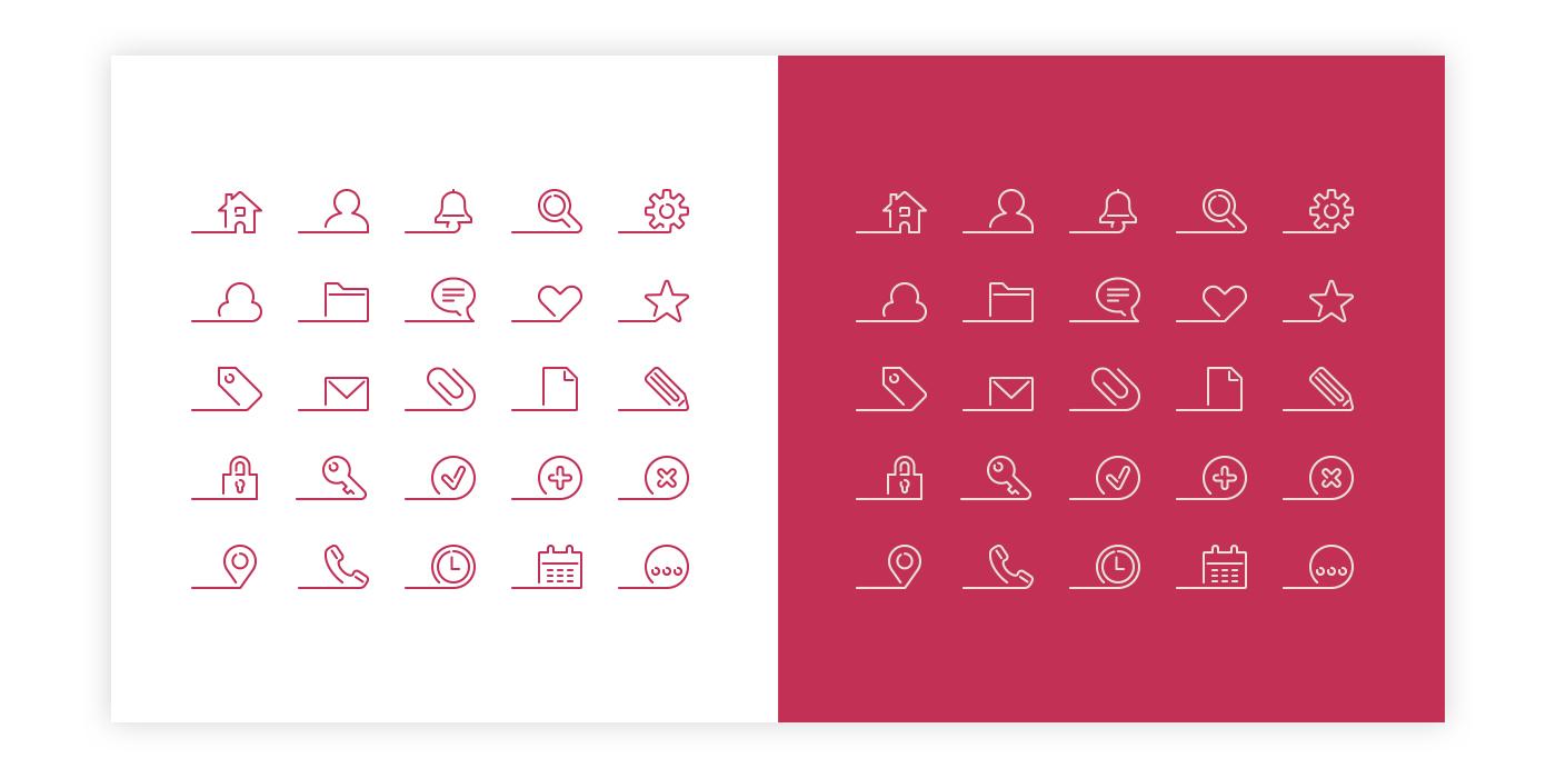 Zwevende iconen