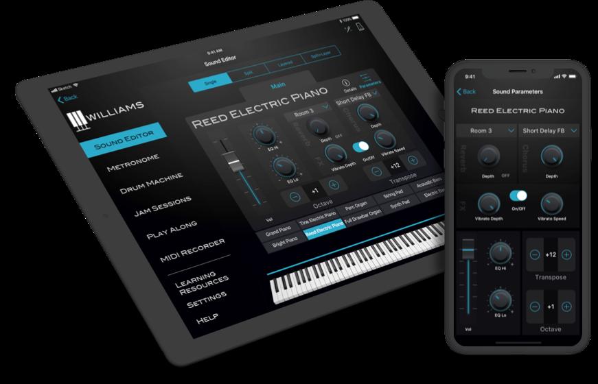 Williams Piano App