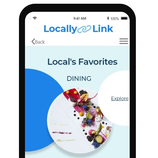 Locally Link, My 1st UX Research                   and IOS Design Project