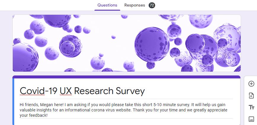 covidtestingmoose.com,       UX Research & Front End Development