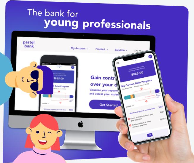 Pastel Bank Mobile App