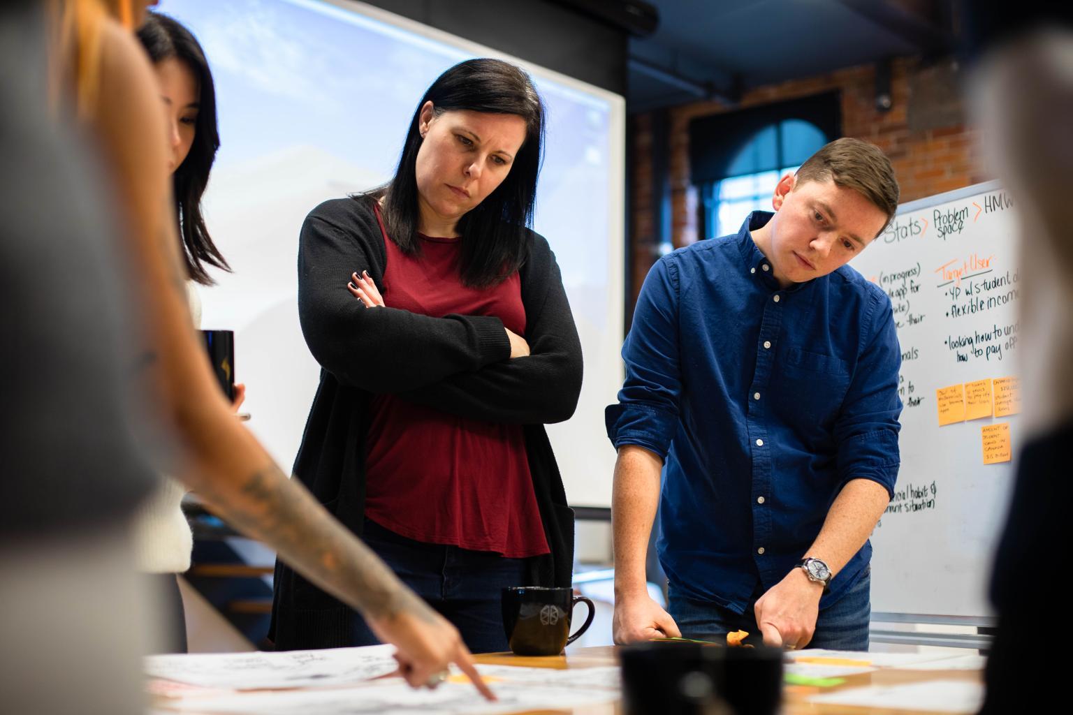 Mentors: Brian Whelan (Sr. UX Designer); Andrea Reck (Sr. UX Designer); Gungeet Kaur (UX Designer); Steve Indrigo (UX Researcher)