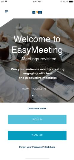 EasyMeeting App