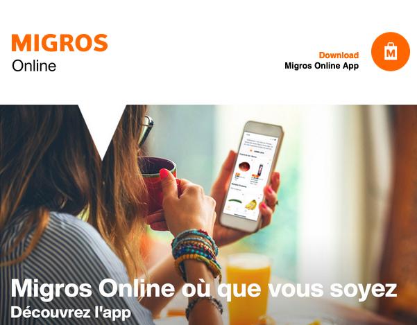 Appli Migros Online