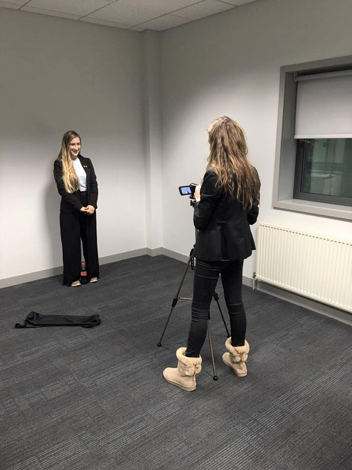 Behind the scenes of Equalytie's video campaign