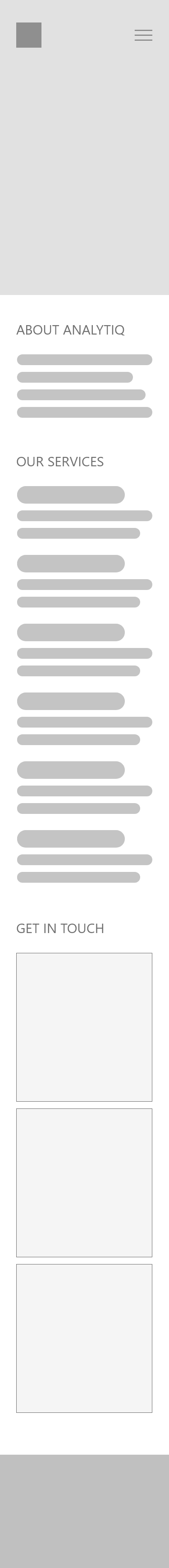 Scroll on phone screen to see the wireframe